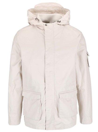 Jachetă Bellfield Albany cu glugă de culoare crem