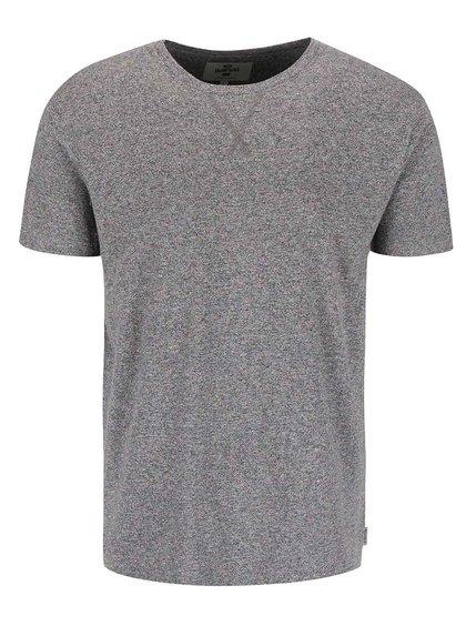 Sivé tričko s farebným žíhaním Bellfield Merrywell