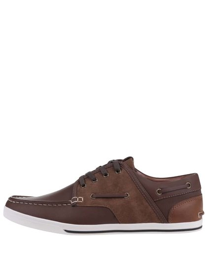 Pantofi sport ALDO Greeney maro din piele