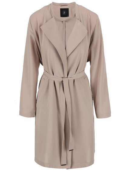 Trench SisterS Point Lana beige cu maneca 3/4