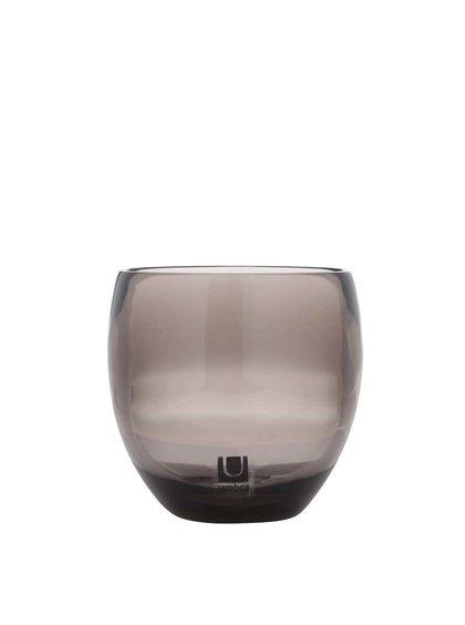Suport sticlă Umbra Droplet pentru baie