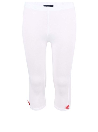 Pantaloni de trening Blue Seven pentru fete albi florali