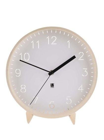 Drevené hodiny Umbra Rimwood