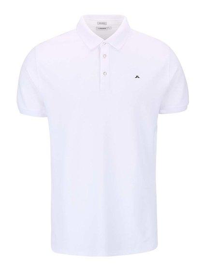 Biele polo tričko J.Lindeberg Rubi