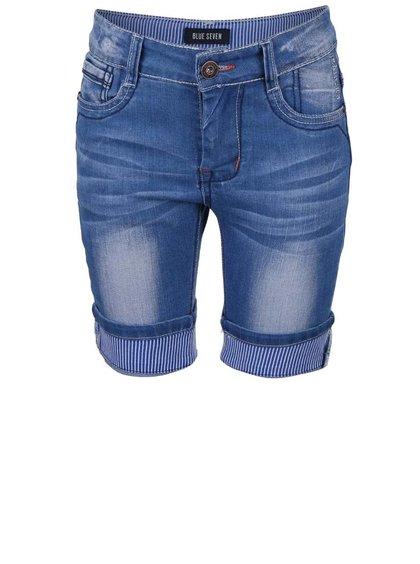 Pantaloni scurți din denim Blue Seven pentru băieți albaștri