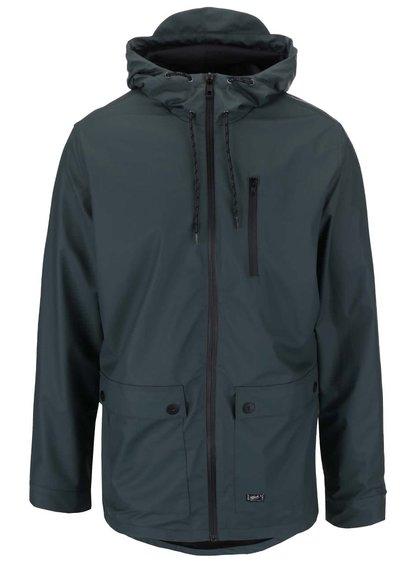 Zelená nepromokavá bunda s kapucí Blend