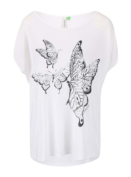 Krémové dámské oversized tričko Ragwear Hipe Organic