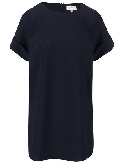 Tmavě modré šaty s krátkým rukávem Apricot