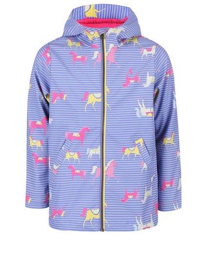 Jachetă Tom Joule mov deschis cu print