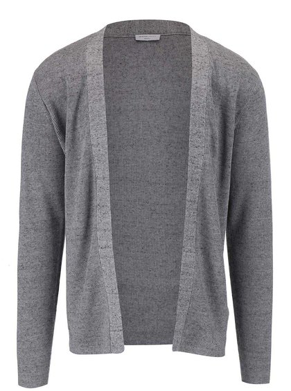 Cardigan Selected Homme Chad de culoare gri