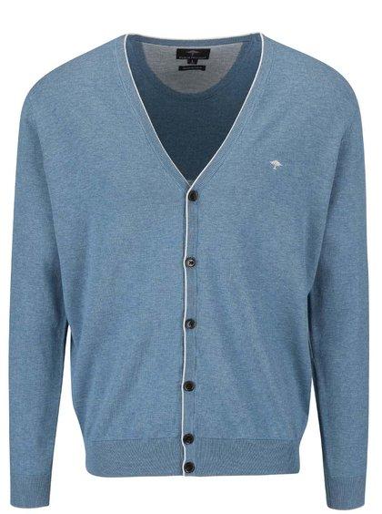 Cardigan Fynch-Hatton albastru cenușiu