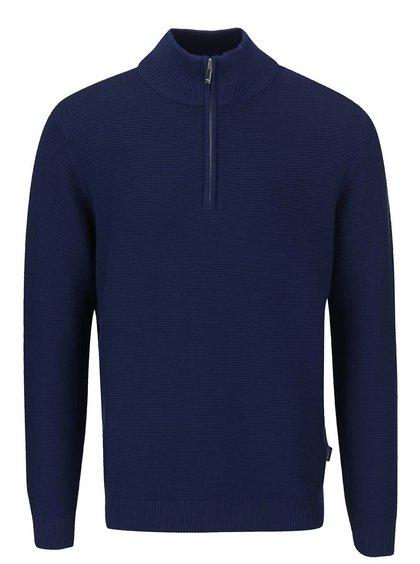 Bluză Fynch-Hatton, navy cu fermoar