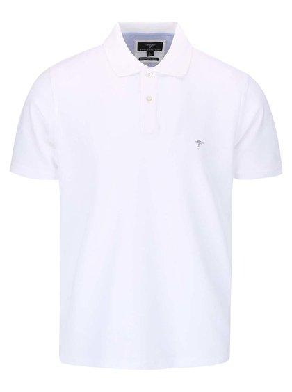 Bílé polo triko Fynch-Hatton