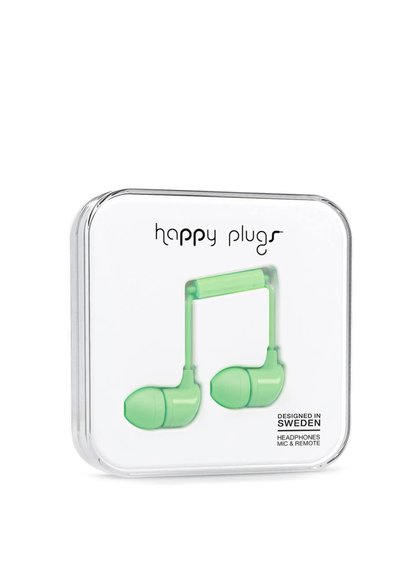 Căști In-Ear Happy Plugs verzi