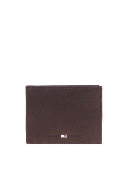 Hnedá pánska kožená peňaženka Tommy Hilfiger Johnson