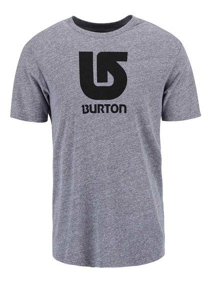 Tricou Burton Logo, de culoare gri