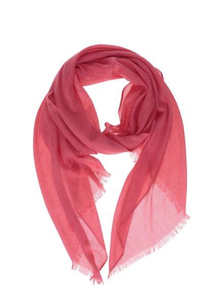 Růžový šátek ONLY Luvre