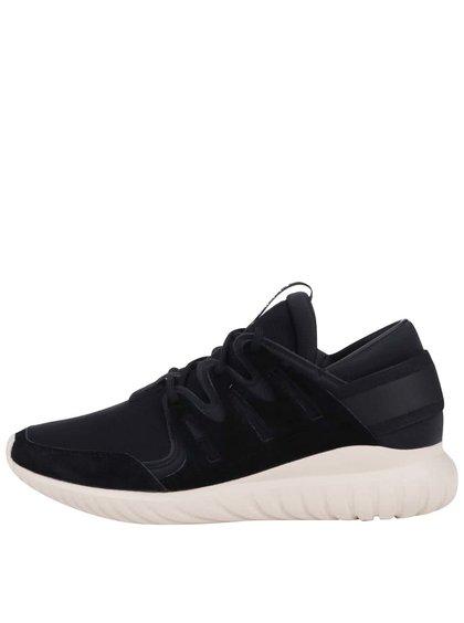 Krémovo-čierne pánske tenisky adidas Originals Tubular Nova