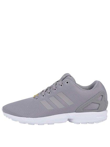Sivé pánske tenisky adidas Originals ZX Flux