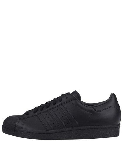 Pantofi sport din piele adidas Originals Superstar '80s negri