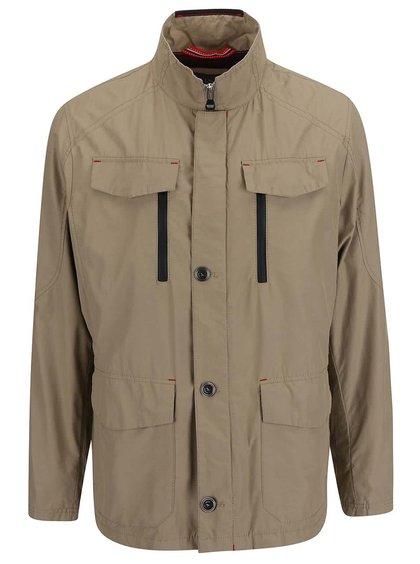 Jachetă Bugatti bej pentru bărbați