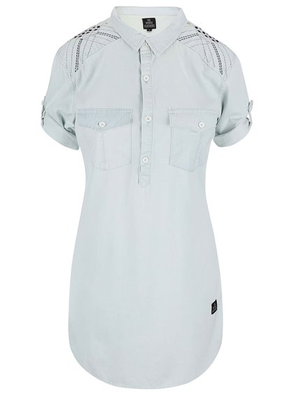 Světle modré košilové šaty Horsefeathers Tereza