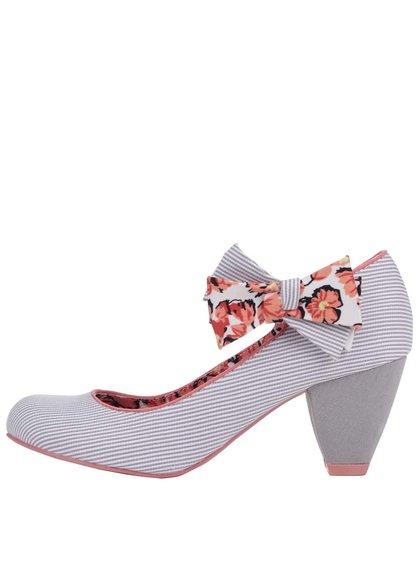 Pantofi Ruby Shoo Piper gri deschis