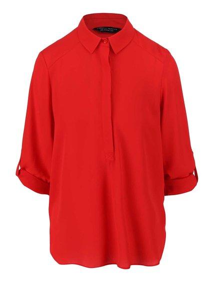 Červená blúzka s dlhšími rukávmi Dorothy Perkins