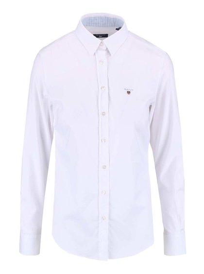 Biela dámska košeľa s dlhým rukávom GANT