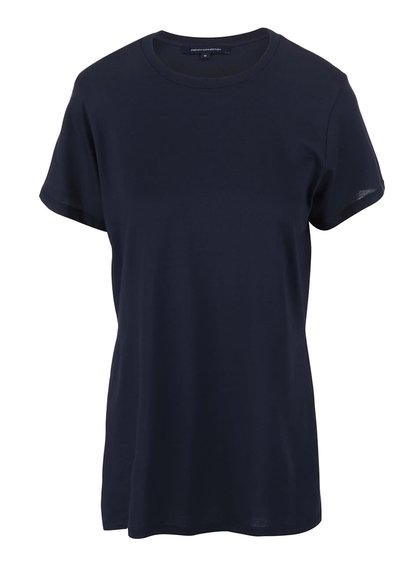 Tricou French Connection Timothy bleumarin