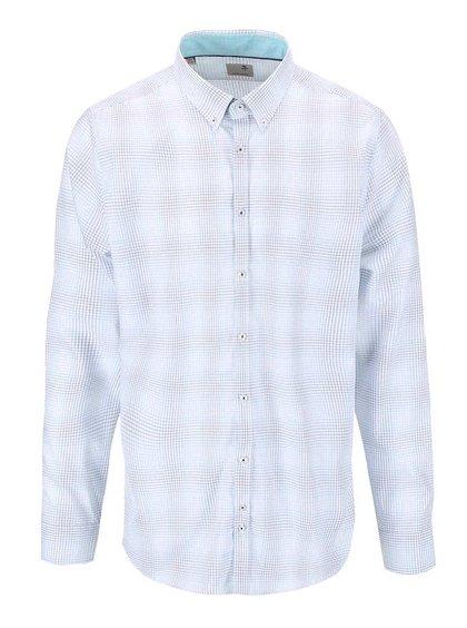 Modro-bílá kostkovaná košile Seidensticker Remy Petit Slim Fit