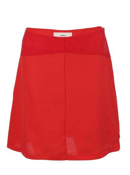 Červená sukně Skunkfunk Lauder