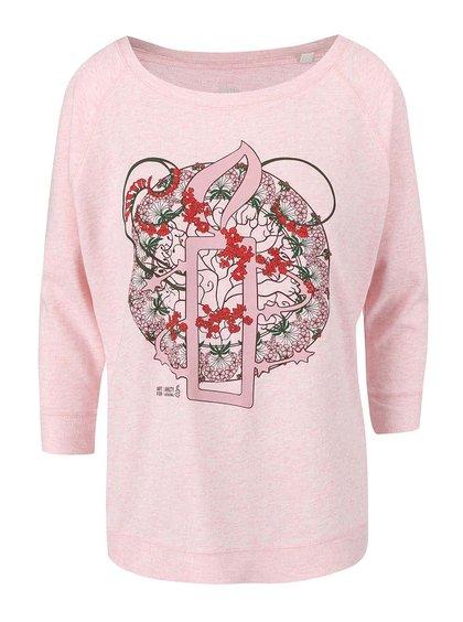 """""""Dobrá"""" ružová dámska mikina pre Amnesty International"""