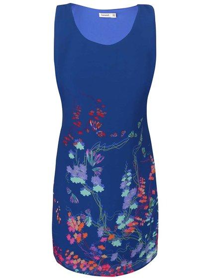 Modré kvetinové šaty Lavand