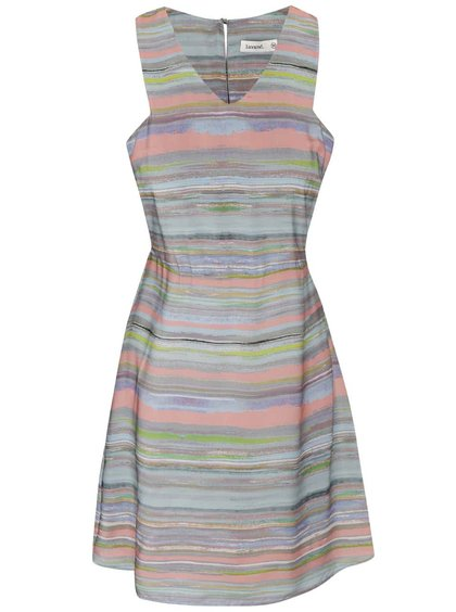 Barevné pruhované šaty Lavand