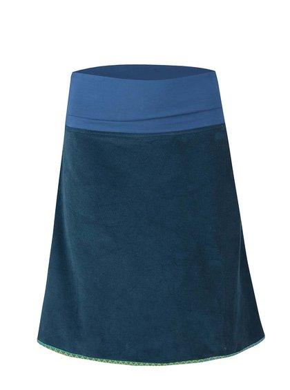 Petrolejová menčestrová sukňa Tranquillo Jubilei