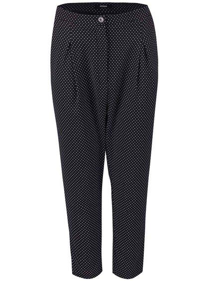 Černé formální kalhoty se vzorem Alchymi Castor