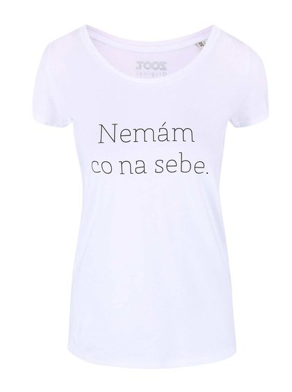Biele dámske tričko ZOOT Originál Nemám co na sebe