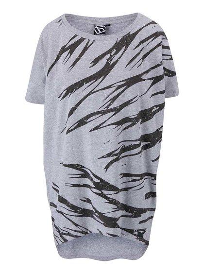 Tricou de damă Funstorm Ichla gri