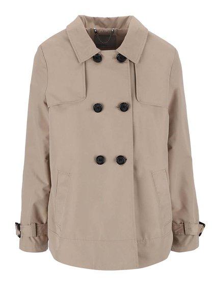 Béžový krátky kabát Vero Moda Canyon