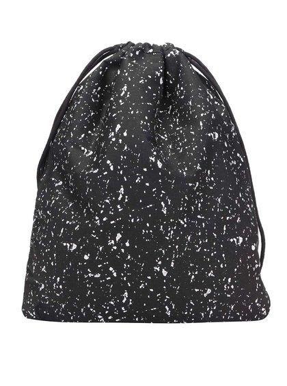 Čierny vzorovaný vak Mi-Pac Kit Bag Splattered