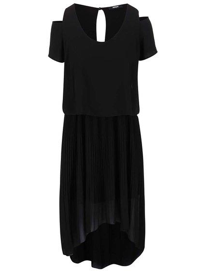 Čierne šaty Alchymi Spectrolite
