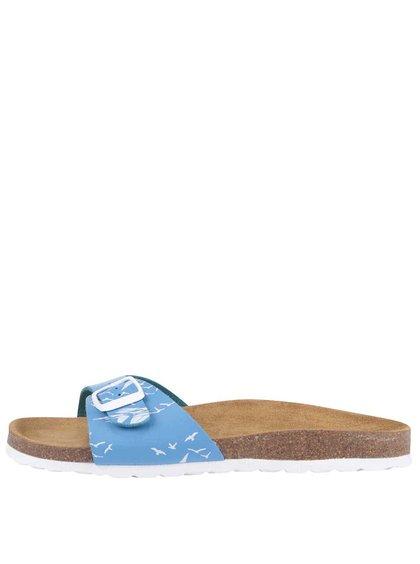 Modré pantofle s motivem lodí Brakeburn Boats