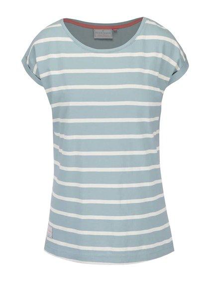 Tricou Brakeburn Stripe albastru cu alb