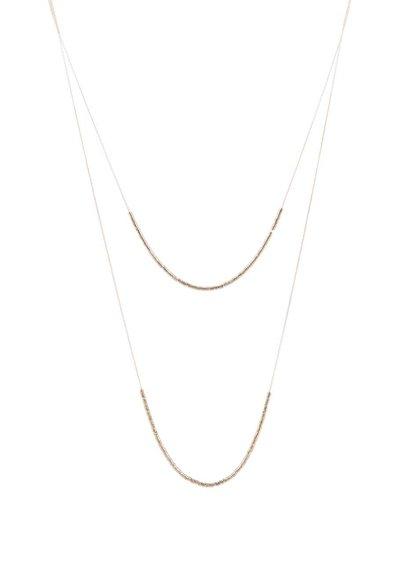 Colier Pieces Tashia auriu