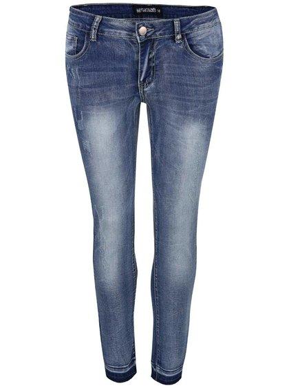 Modré potrhané džíny Haily´s Nora