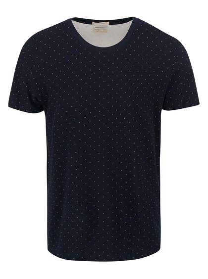 Tricou Selected Homme Luke albastru
