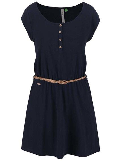 Tmavě modré šaty Ragwear Zephie Organic