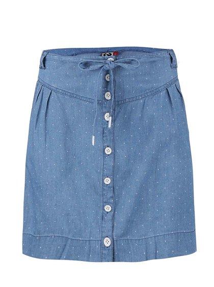 Modrá puntíkovaná sukně Ragwear Nina