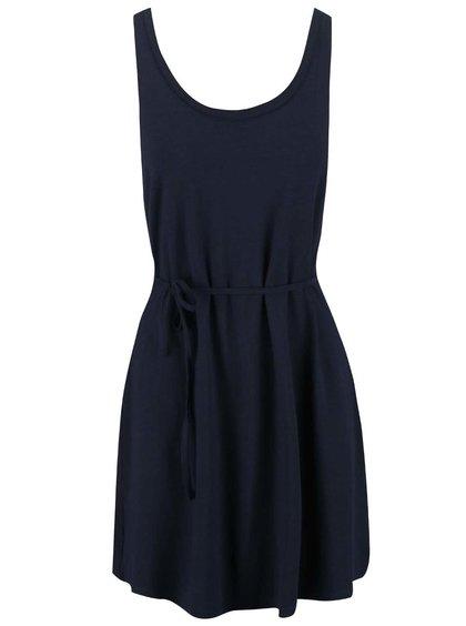 Tmavomodré šaty VILA Honesty